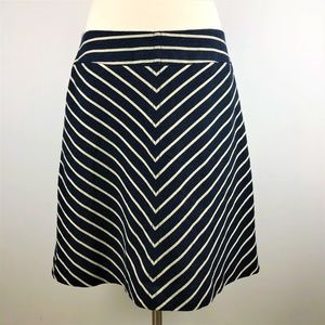 The Limited Perfect Striped Flare Skirt Medium